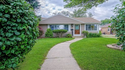 Des Plaines Single Family Home For Sale: 2011 Welwyn Avenue