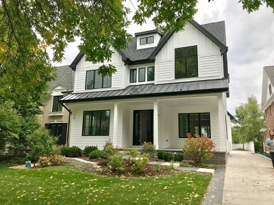 Western Springs Single Family Home For Sale: 4539 Clausen Avenue