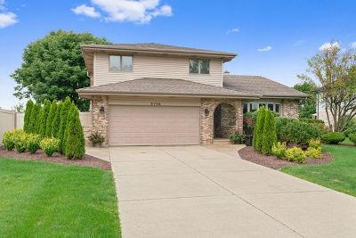 Woodridge Single Family Home Price Change: 8708 Coventry Drive
