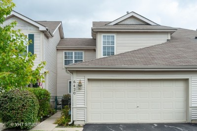 Fox Lake Condo/Townhouse For Sale: 6420 Cherrywood Court