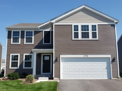 Pingree Grove Single Family Home For Sale: 1770 Bayberry Lane