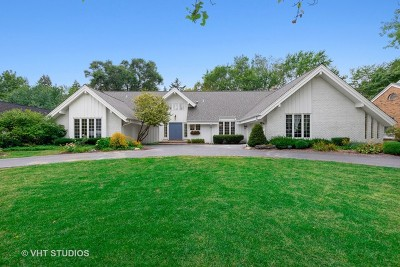 Burr Ridge Single Family Home For Sale: 1300 Laurie Lane