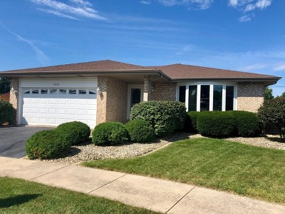 Midlothian IL Single Family Home Price Change: $269,900