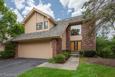 Burr Ridge Condo/Townhouse For Sale: 52 Oak Creek Drive