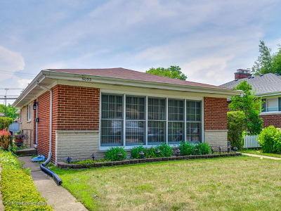 Skokie Single Family Home For Sale: 5053 Elm Street