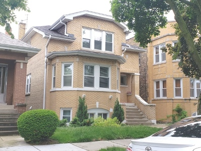 Chicago Multi Family Home For Sale: 5511 West Dakin Street