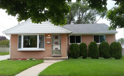 Brookfield Single Family Home For Sale: 3124 Cleveland Avenue