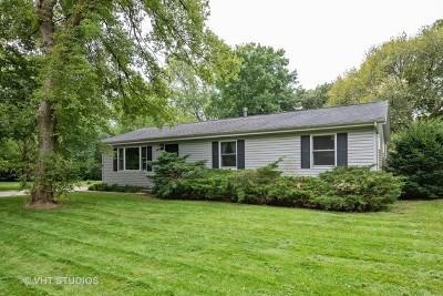 Algonquin Single Family Home For Sale: 1458 Winaki Trail