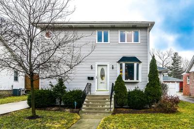 Western Springs Single Family Home For Sale: 3903 Garden Avenue