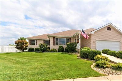 Bourbonnais Single Family Home New: 1956 Claire Court