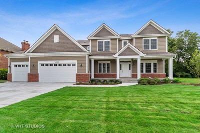 Glenview Single Family Home For Sale: 4135 Hampton Court