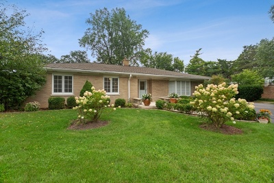 Glenview Single Family Home For Sale: 2316 Sumac Circle