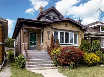 Elmwood Park Single Family Home Contingent: 7839 West Oakleaf Avenue