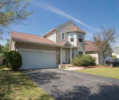 Romeoville Single Family Home For Sale: 78 Sonoma Drive