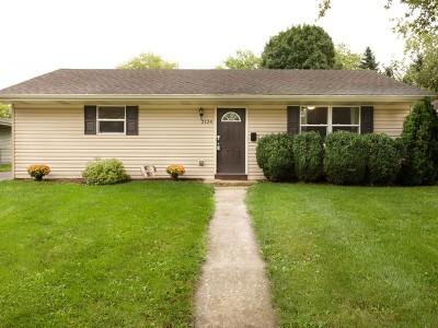 Carpentersville Single Family Home New: 2124 Tepee Avenue