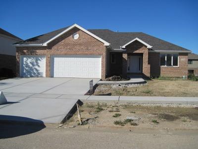 New Lenox Single Family Home Price Change: 739 Teal Drive