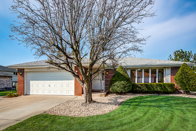 Orland Park Single Family Home New: 7420 Cashew Drive