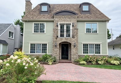 Glenview Single Family Home New: 131 Montgomery Lane
