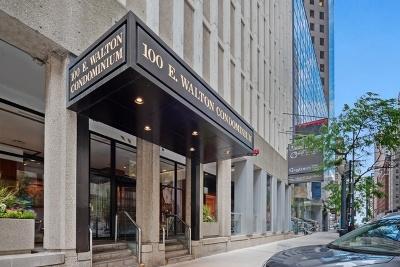 Condo/Townhouse For Sale: 100 East Walton Street #23A