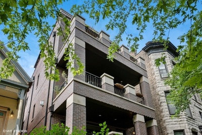 Condo/Townhouse For Sale: 3214 North Seminary Avenue #3
