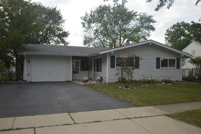 Streamwood Single Family Home New: 618 Lincolnwood Drive