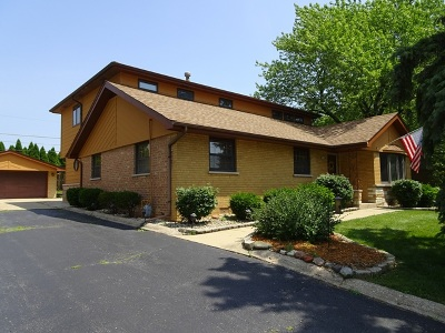 Hickory Hills Single Family Home For Sale: 8124 West 93rd Street