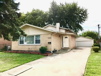 Alsip Single Family Home For Sale: 12504 South Trumbull Avenue