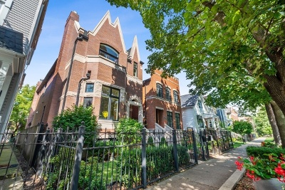 Single Family Home For Sale: 3416 North Seeley Avenue
