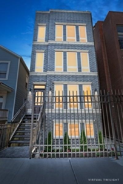 Condo/Townhouse For Sale: 1415 West Walton Street #1