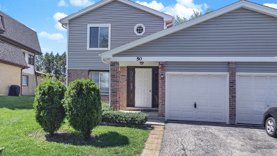 Roselle IL Condo/Townhouse For Sale: $214,900