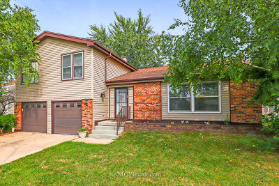 Glendale Heights Single Family Home For Sale: 1865 Scarboro Drive