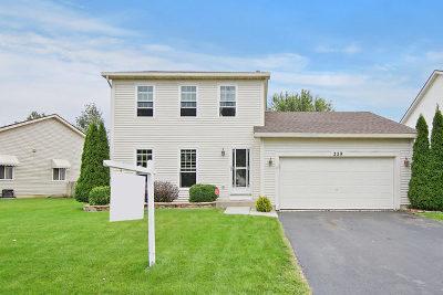 Romeoville Single Family Home For Sale: 229 Saratoga Lane