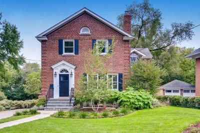 Glen Ellyn Single Family Home For Sale: 399 Hill Avenue