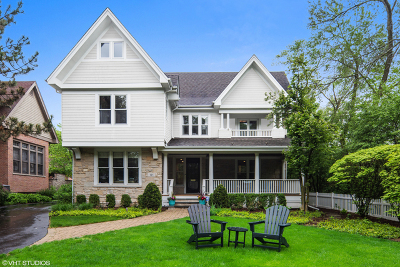 Hinsdale Single Family Home For Sale: 121 North Park Avenue