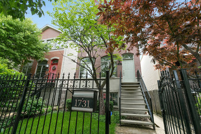 Chicago Single Family Home For Sale: 1731 North Rockwell Street