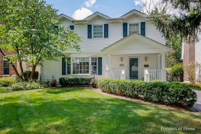 Glen Ellyn Single Family Home For Sale: 772 Pleasant Avenue
