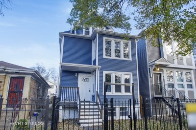 Single Family Home New: 4609 North Springfield Avenue