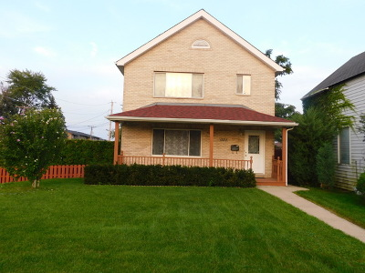 Alsip Single Family Home For Sale: 12203 South McDaniel Street