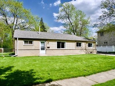 Single Family Home For Sale: 665 Ashland Street