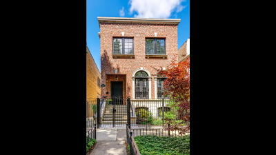 Chicago Single Family Home For Sale: 1242 West Altgeld Street