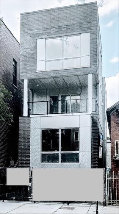 Condo/Townhouse For Sale: 1840 West Armitage Avenue #3