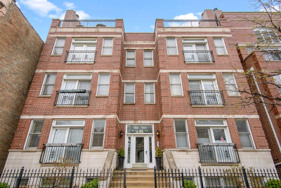Condo/Townhouse New: 3820 North Clark Street #3