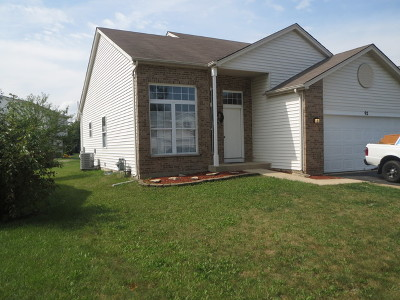 Romeoville Single Family Home New: 92 Olde English Drive