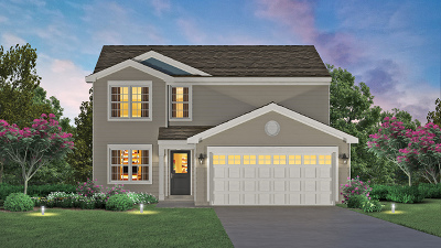 Pingree Grove Single Family Home New: 1601 Cedarwood Lane