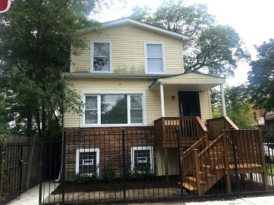 Chicago Single Family Home New: 4957 West Hubbard Street