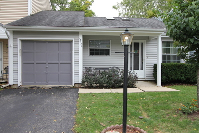 Island Lake Condo/Townhouse For Sale: 3627 Linden Drive