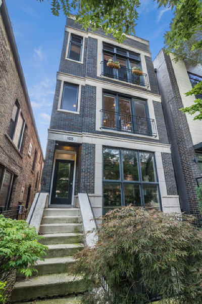 Chicago Condo/Townhouse New: 1025 North Honore Street #2