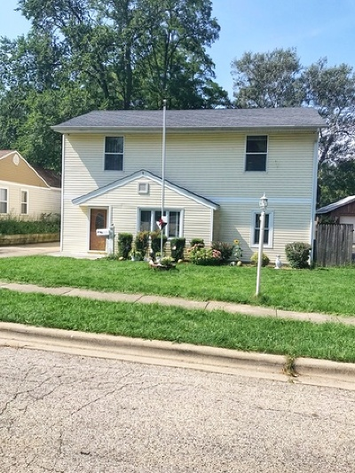 Mundelein Single Family Home For Sale: 128 North Greenview Avenue