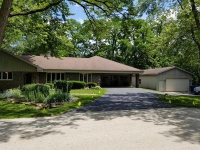 Homer Glen Single Family Home New: 14351 South Oak Trail