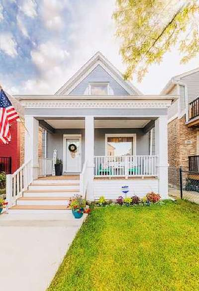 Chicago Single Family Home New: 1742 North Central Park Avenue